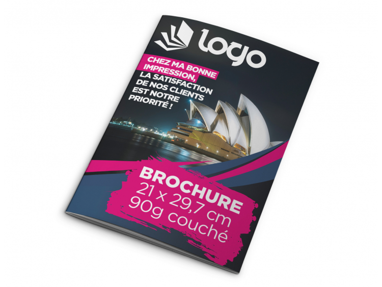 Brochure A4 - 32 pages sans couverture