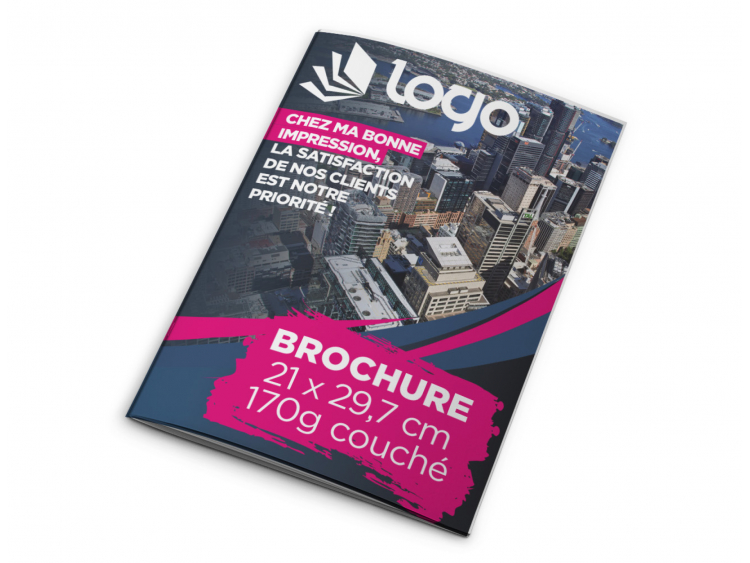Brochure A4 - 28 pages sans couverture